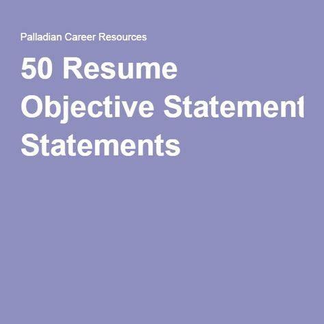 Effective Resume Summary Statement Examples 2018